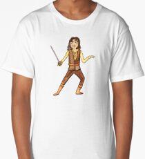 The Princess Bride Inigo Montoya with Sword Illustrated Character by Jayne Kitsch Long T-Shirt