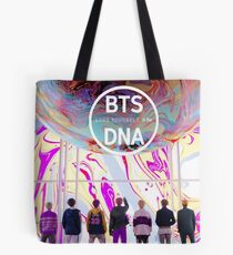 BTS love yourself DNA Tote Bag
