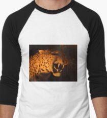 Sabre Toothed Tiger Men's Baseball ¾ T-Shirt