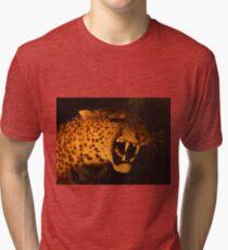 Sabre Toothed Tiger Tri-blend T-Shirt