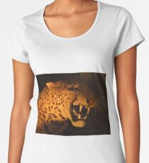Sabre Toothed Tiger Women's Premium T-Shirt