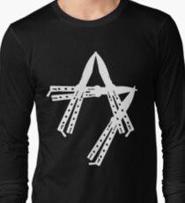 Aggettivo Sette - Balisong (bianco) Long Sleeve T-Shirt