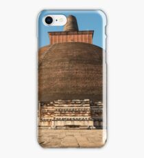 Dog and Jetavanarama Stupa, Anuradhapura iPhone Case/Skin