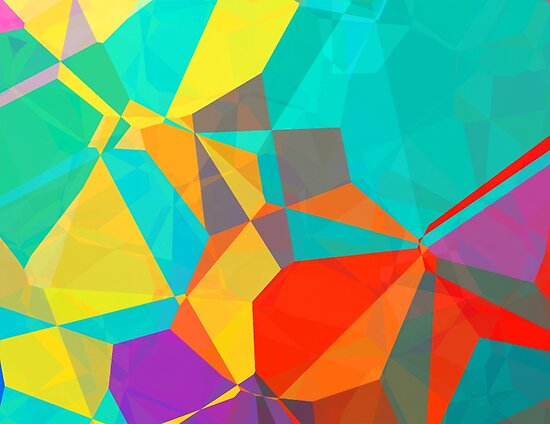 Graphic Polygons (Wallpaper, Background) by A-DIMENSION