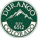 Durango Colorado Mountain Bike Mesa Verde National Park by MyHandmadeSigns