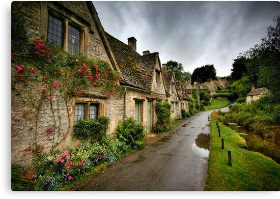 Arlington Row, Cotswalds by Angie Latham