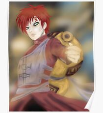 Gaara of the Sand Poster