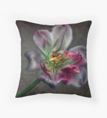 Tulipa laureola Throw Pillow