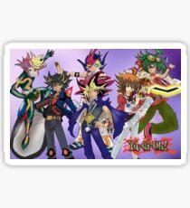 Yu-Gi-Oh! Protagonists Sticker