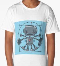 Da Vinci Robot Long T-Shirt