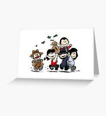 Lupin Gang Greeting Card