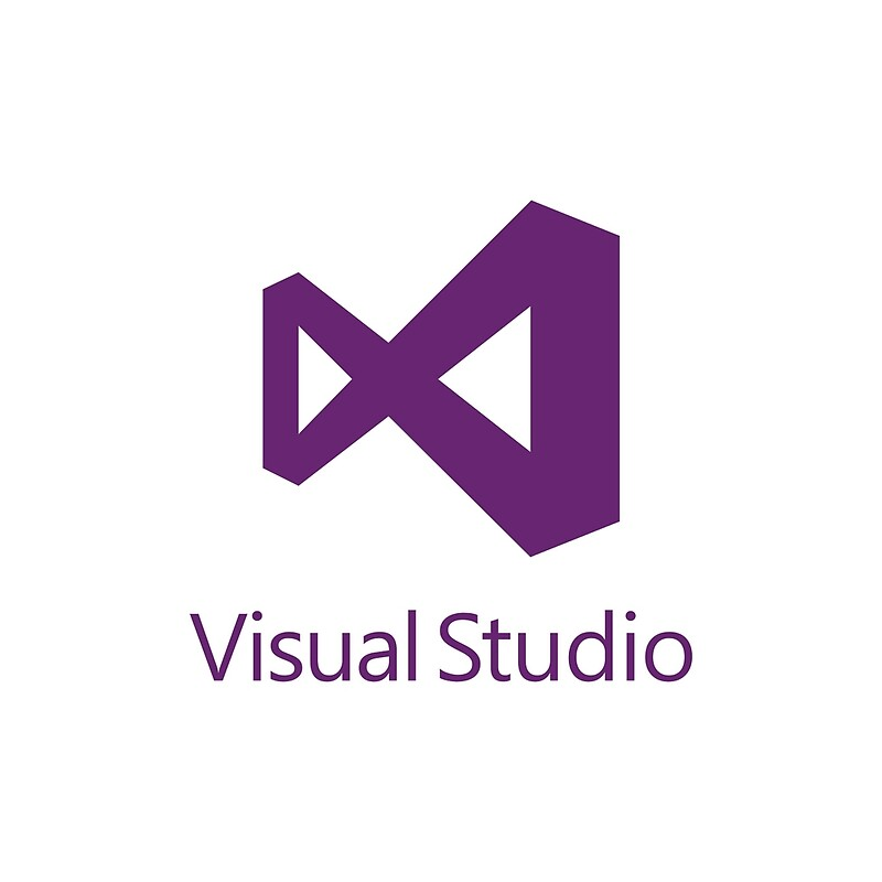 Visual Studio 2012 Logo Purple Tote Bags By Theuntitled