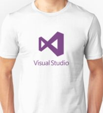 Visual Studio 2012 Logo (Purple) Unisex T-Shirt