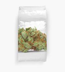 Space Queen Marijuana Duvet Cover