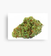Space Queen Marijuana Canvas Print