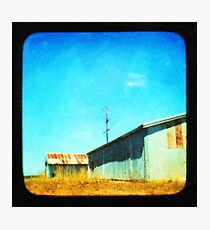Down by the Shed Photographic Print