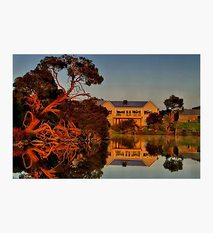 """Morning Reflections at The Minya Winery"" Photographic Print"
