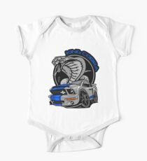Shelby GT (Silver/Blue) King Cobra Kids Clothes