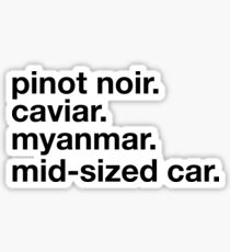 Pinot Noir Sticker