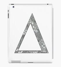 Delta Zentangle iPad Case/Skin