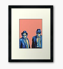 The Blues Brother Framed Print
