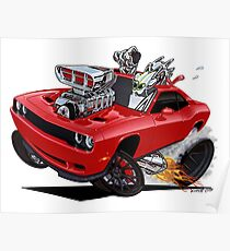Vince Crains Challenger HELLCAT  Poster
