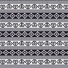 Aztec Mayan Inca Pattern12- Native American by Cveta