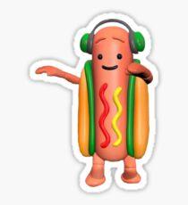 snapchat hot dog Sticker