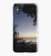 A window onto the sunset, Darwin Australia. iPhone Case/Skin