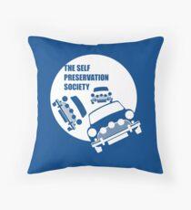 Classic Mini Cooper S - Italian Job Throw Pillow