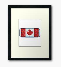 Canada is Hockey Framed Print