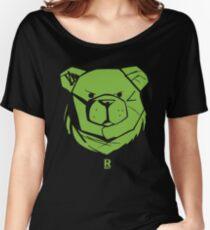 ROBUST BEAR RBST GREEN Women's Relaxed Fit T-Shirt