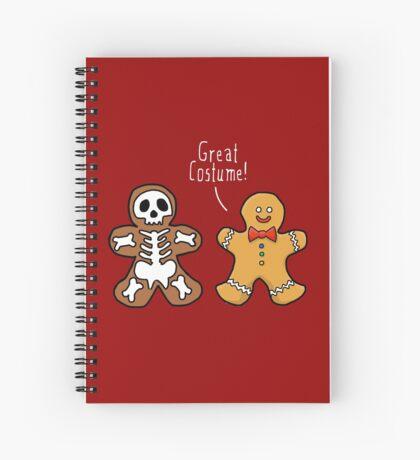 Gingerdead Halloween costume Spiral Notebook