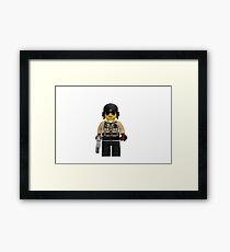 LEGO Traffic Cop Framed Print