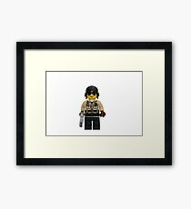 LEGO Traffic Cop Framed Print