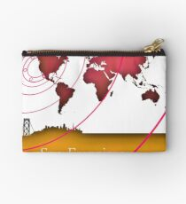 San Francisco in the world Studio Pouch