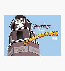 Once Upon a Time - Greetings from Storybrooke Photographic Print