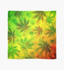 Marijuana Leaves Nature Pattern Scarf