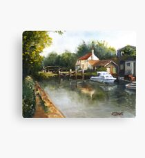 The Lock Keeper's Cottage Canvas Print