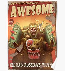 Astoundingly Awesome Tales: The Mad Russian's Revenge Fallout 4 Poster  Poster