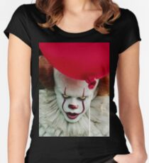 Pennywise (IT 2017) Women's Fitted Scoop T-Shirt