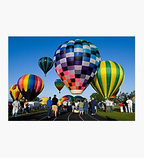 UP UP AND AWAY MY BEAUTIFUL BALLOONS  Photographic Print