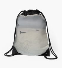 Misty Morning Drawstring Bag