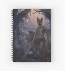 Werewolf  Spiral Notebook