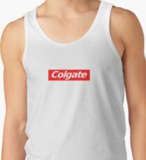 Camiseta de tirantes colgate adhesivo supremo