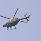 devon and cornwall police helicopter by brucemlong