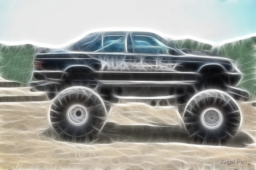 MUD-cedes Benz by Angel Perry