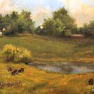 Walnut Farm by Lynn  Abbott