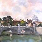River Crossing by Lynn  Abbott