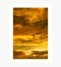 A Painting In The Sky  Art Print